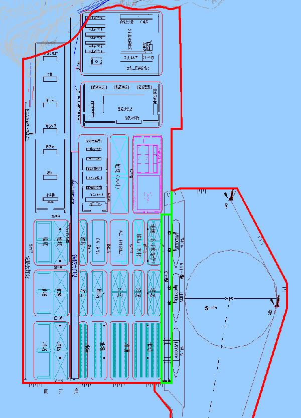 大连港长兴岛港区通用泊位填海工程
